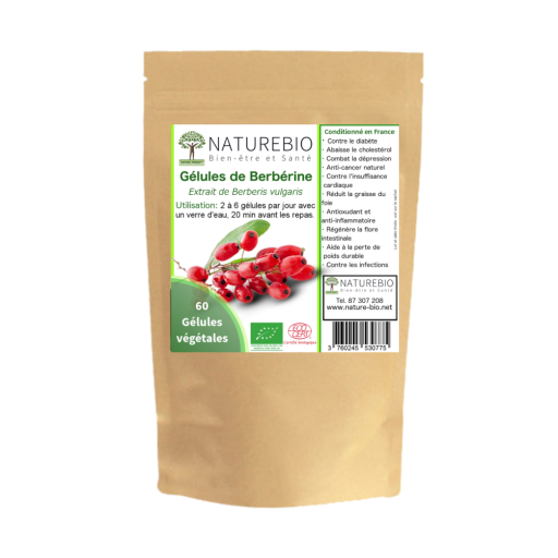 Packaging BERBERINE